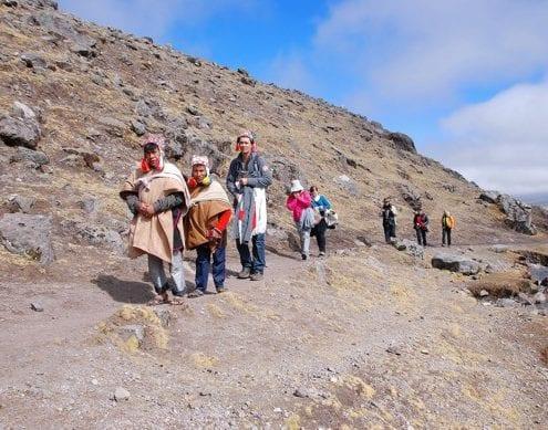 Gruppe, Ausangate, Peru