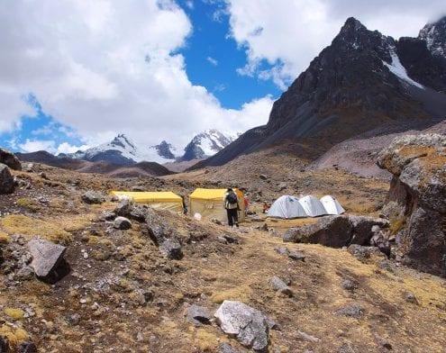 Camp Ausangate Peru