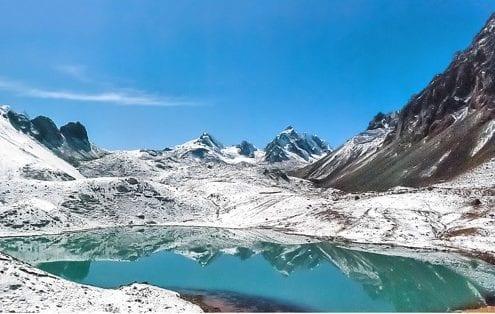 Lagune Ausangate Peru