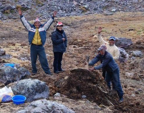 Bergführer Aussagte Peru
