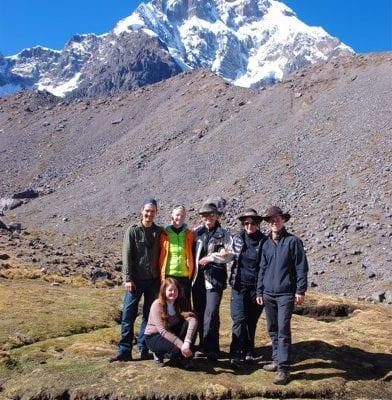 Gruppe Ausangate Tour Peru