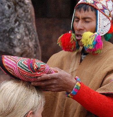 Quero, Modesto Zeremonie, Peru