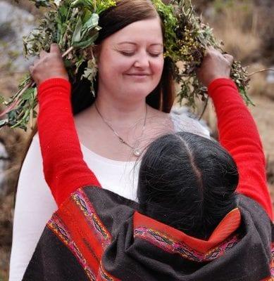 Quero, Zeremonie, Peru