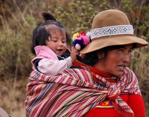 Mutter Kind Peru