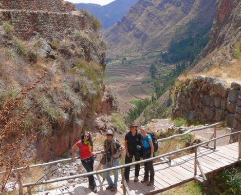 bridge Sacred Valley Peru