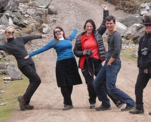 Gruppe Ausangate Peru